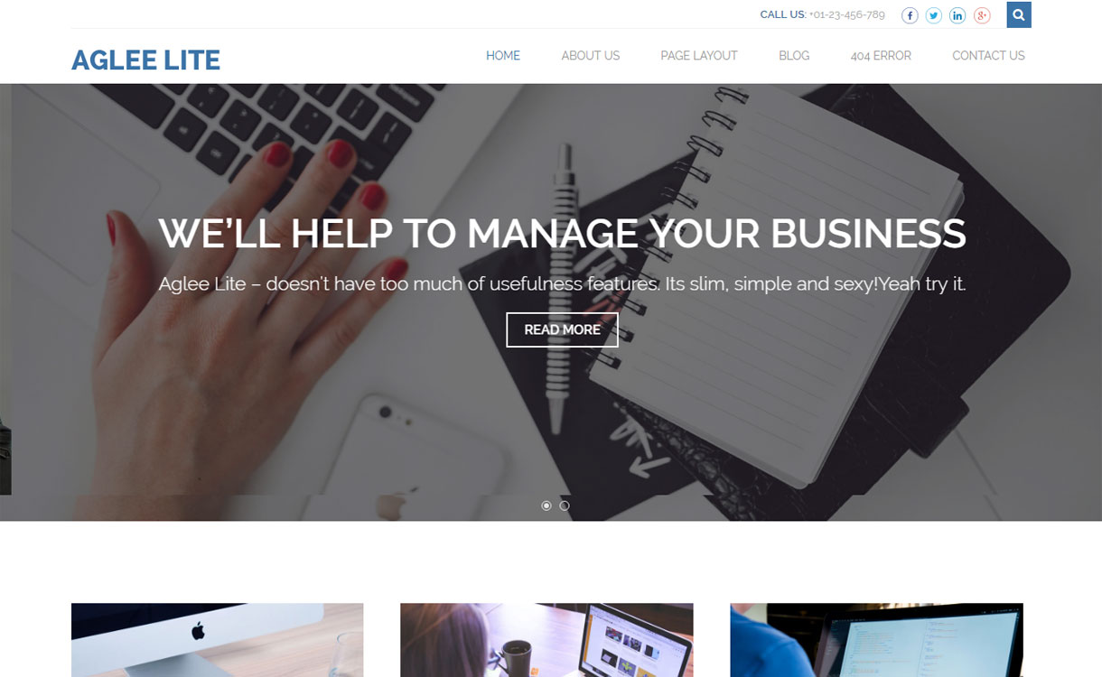 aglee-lite-free-wordpress-theme