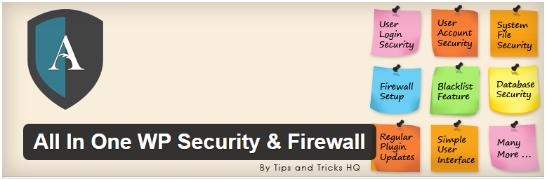 All In One WP Security Firewall plugin - 15 Simple Tricks to Protect Your WordPress Site From Being Hacked