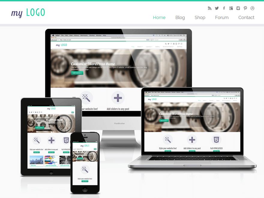 Customizr - 50+ Best Free Responsive WordPress Themes 2020
