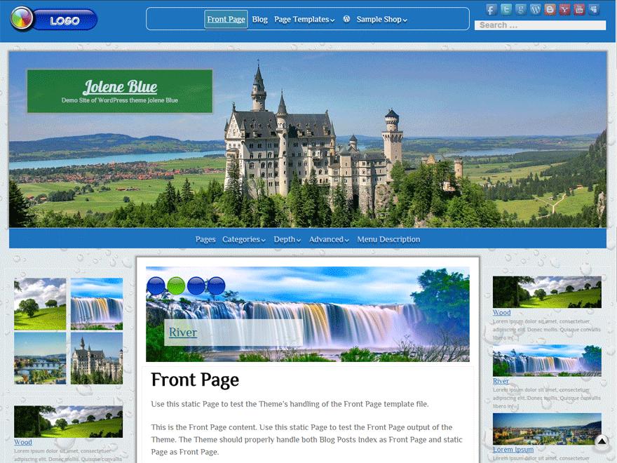 Jolene - 25+ Best Free Responsive Magazine WordPress Themes 2020