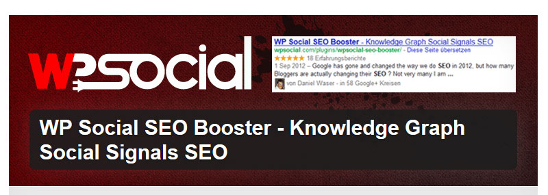 WP Social SEO Booster freemium - 27+ Best Free Premium WordPress SEO Plugins 2019
