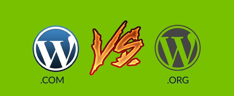 Wordpress com vs org