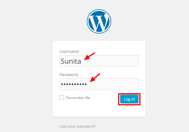 login backend - A complete guide to WordPress for beginners