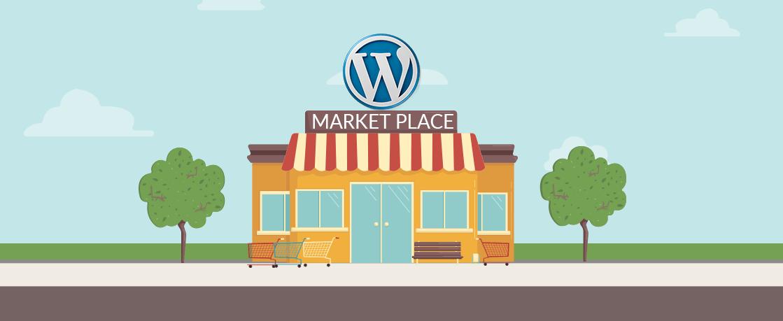 marketplaces of WordPress themes