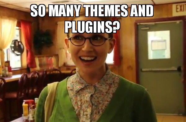 themes and plugins - The WordPress War - WordPress.com Vs WordPress.org