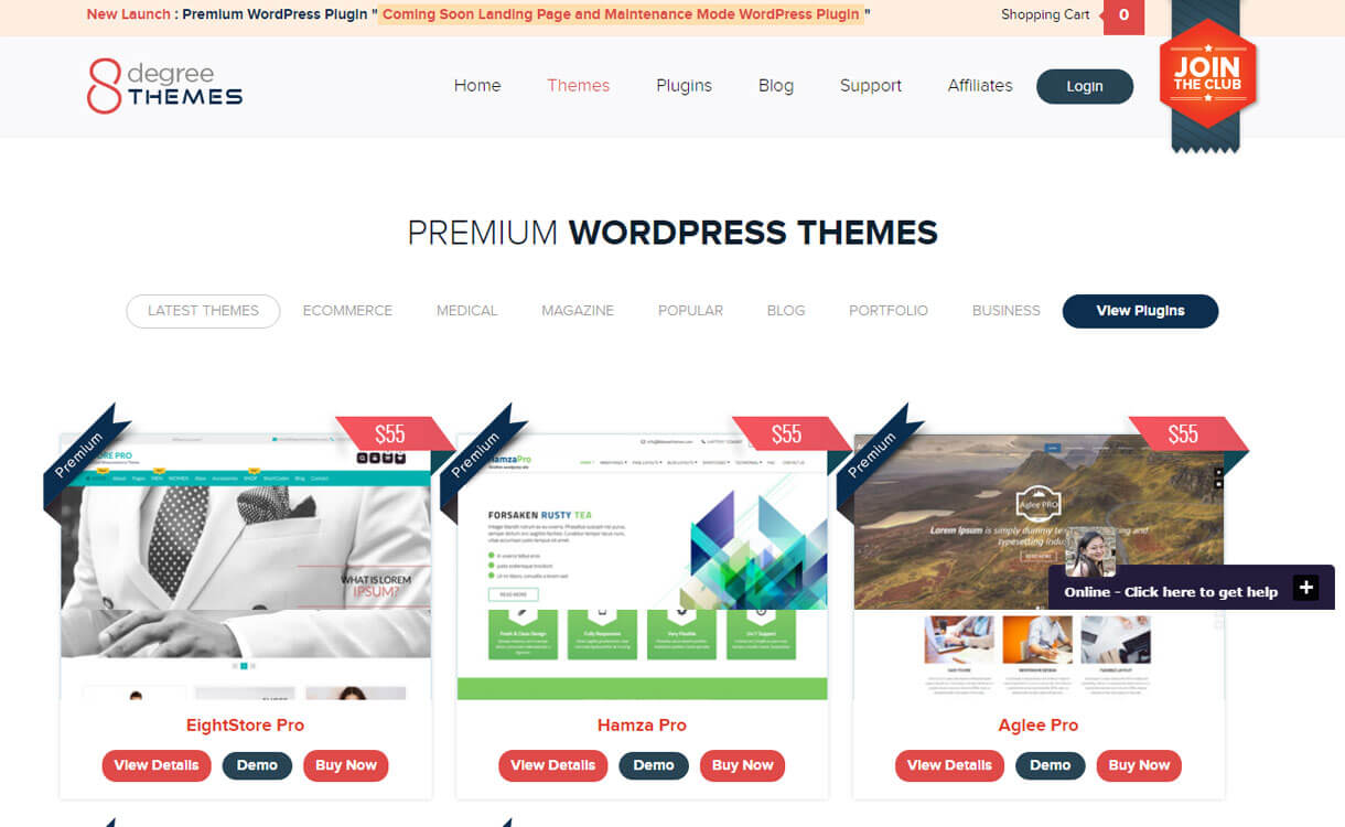 8degree-themes-WordPress-theme-store
