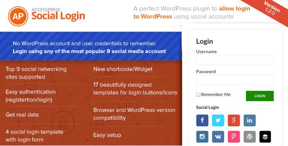 AccessPress Social Login