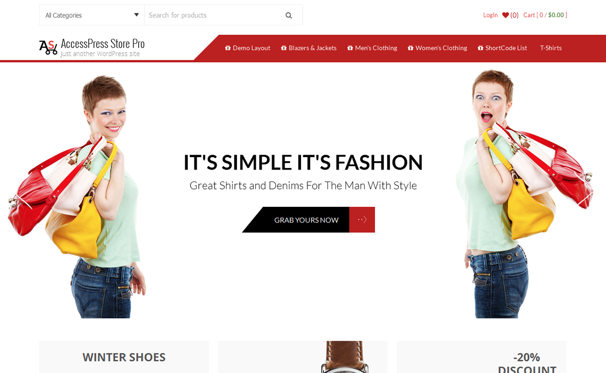 AccessPress Store Pro - Premium WooCommerce WordPress Theme
