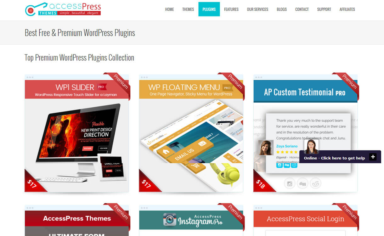 accesspress-themes-WordPress-plugin-store