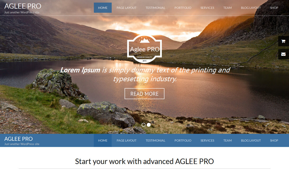 aglee-pro-premium-WordPress-theme