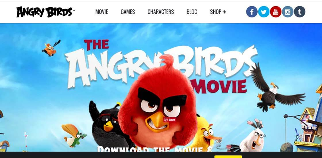 Angry Birds - 47 Famous Websites Using WordPress As Their CMS