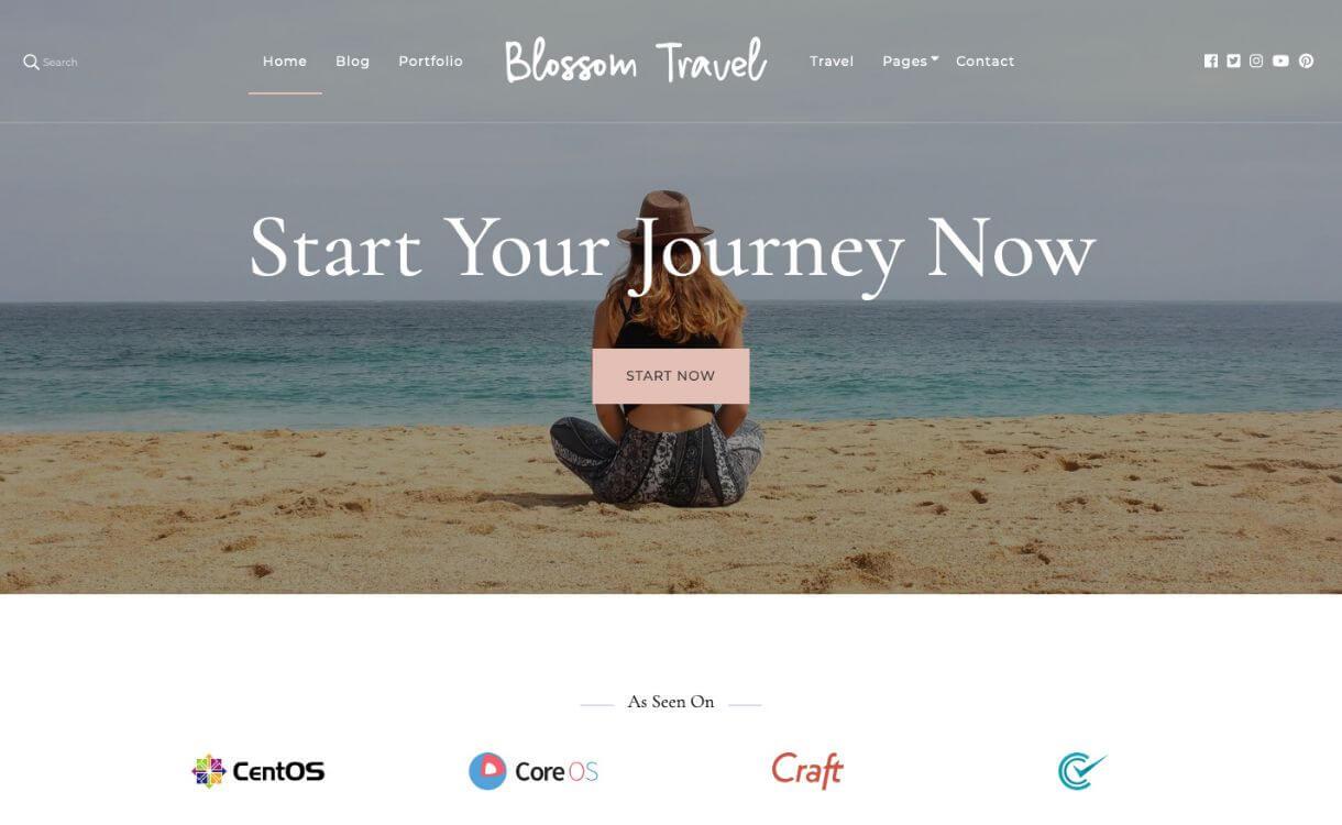 Blossom Travel - Free Responsive WordPress Theme