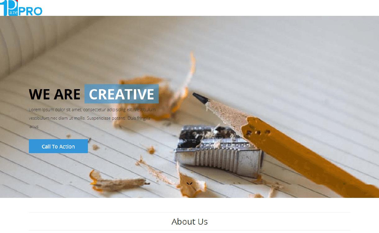 One Paze Pro - 15+ Best Premium WordPress One Page Themes 2019