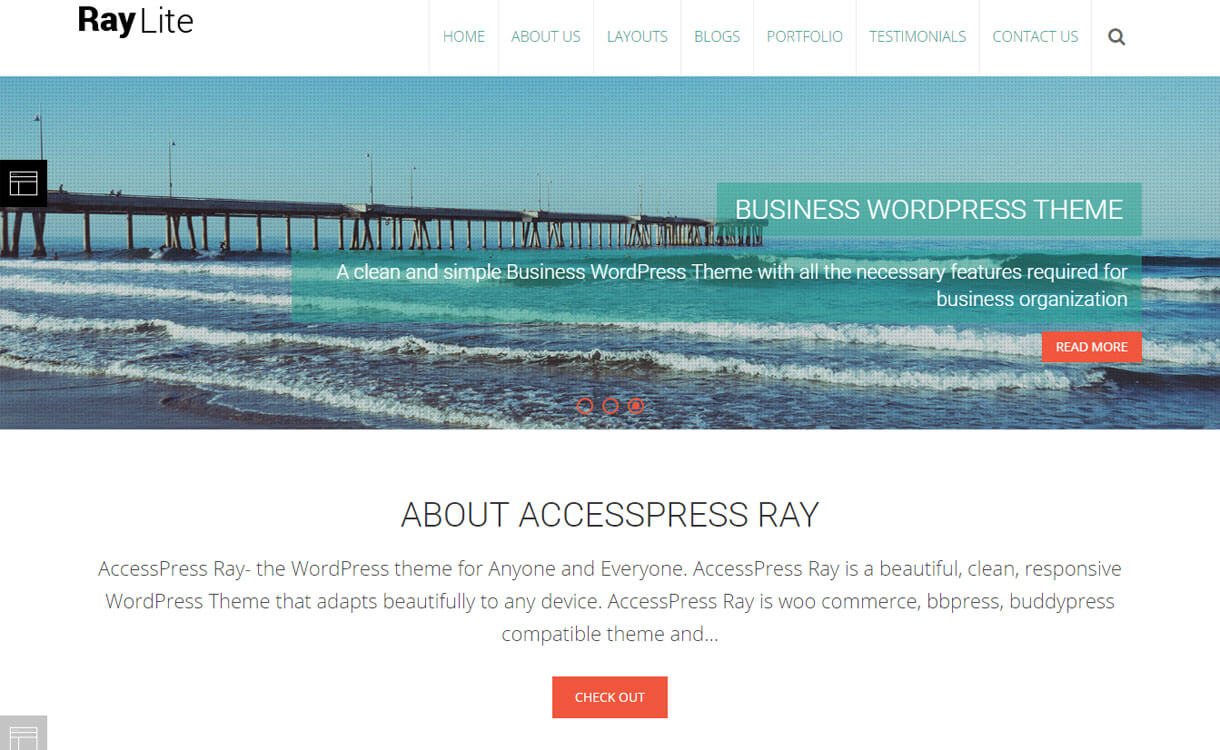 AccessPress-Ray-free-wordpress-theme