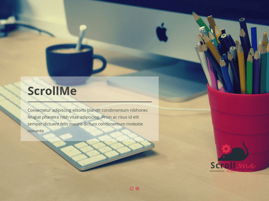 scrollme - 50+ Best Free Responsive WordPress Themes 2019