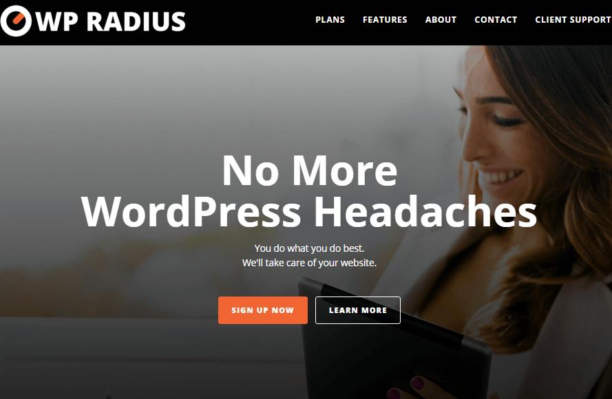 WP Radius