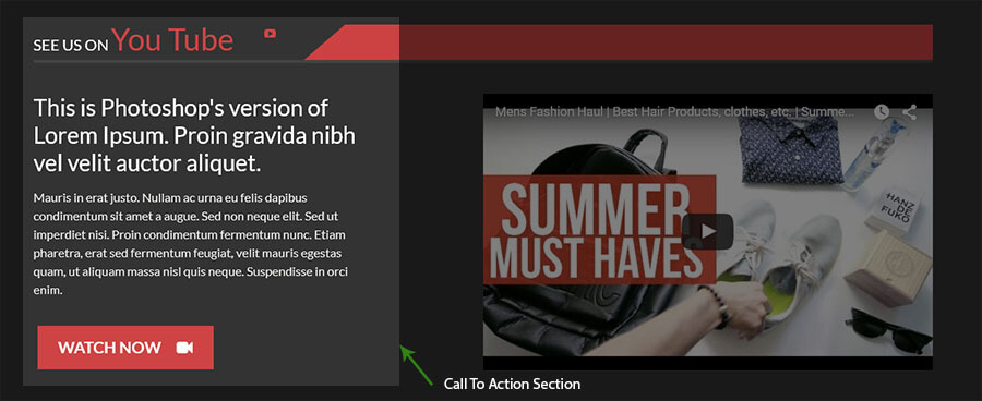 APStore video calltoaction - AccessPress Store Pro: Perfect WooCommerce WP Theme