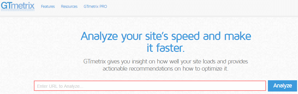GTmetrix - How to Speed Up Your WordPress site - Optimization Tips