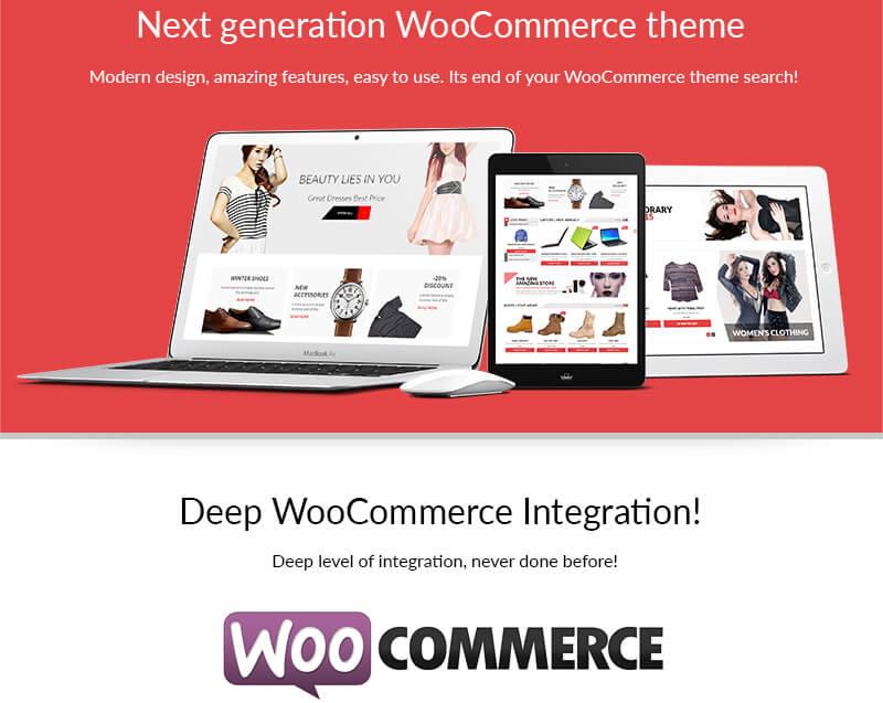 deep woocommerce integration - AccessPress Store Pro: Perfect WooCommerce WP Theme