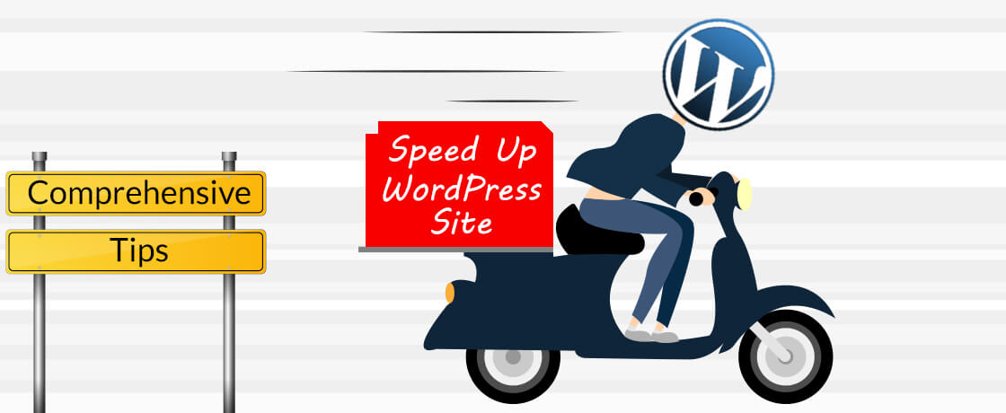 how to speed up wp site