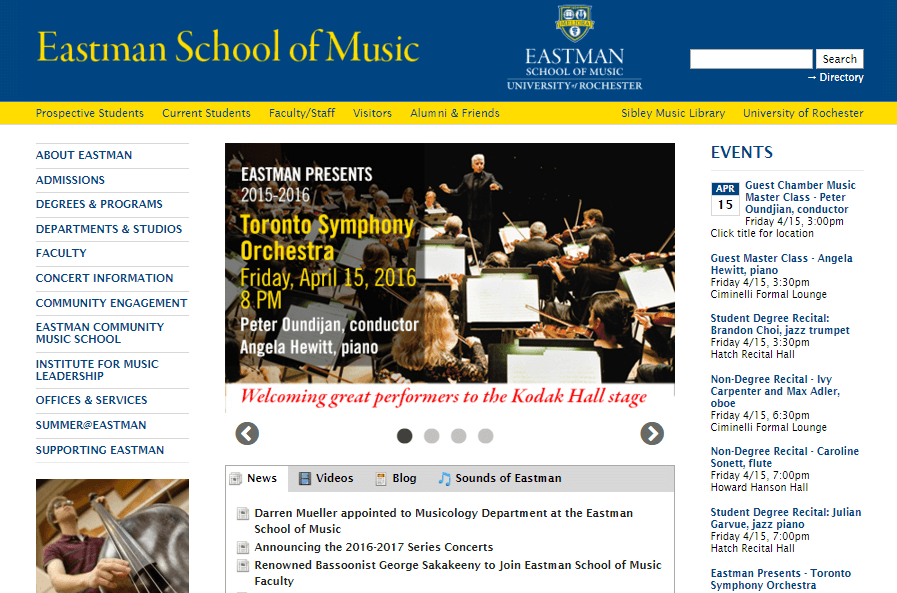 Eastman School of Music wp multisite - Everything you need to know about WordPress Multisite