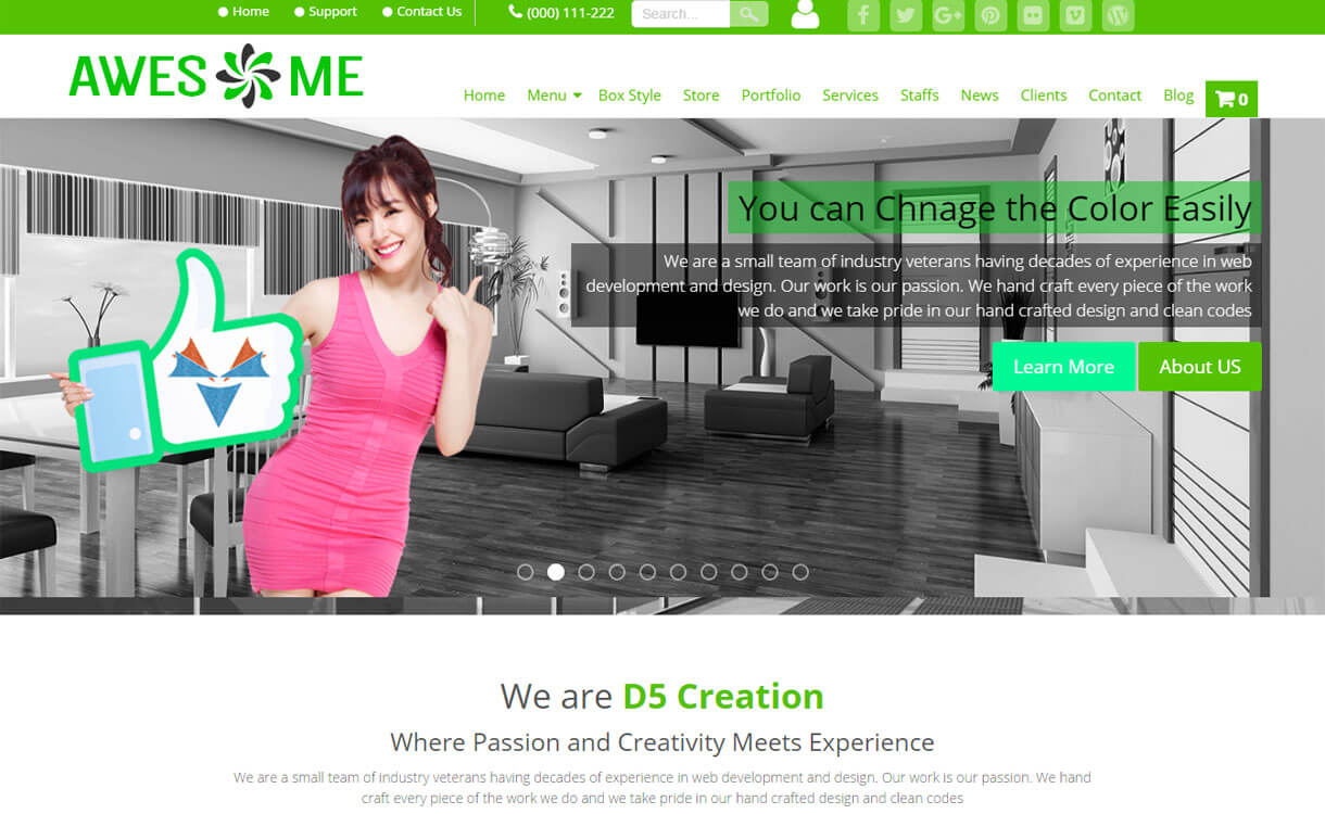 awesome-free-wordpress-theme