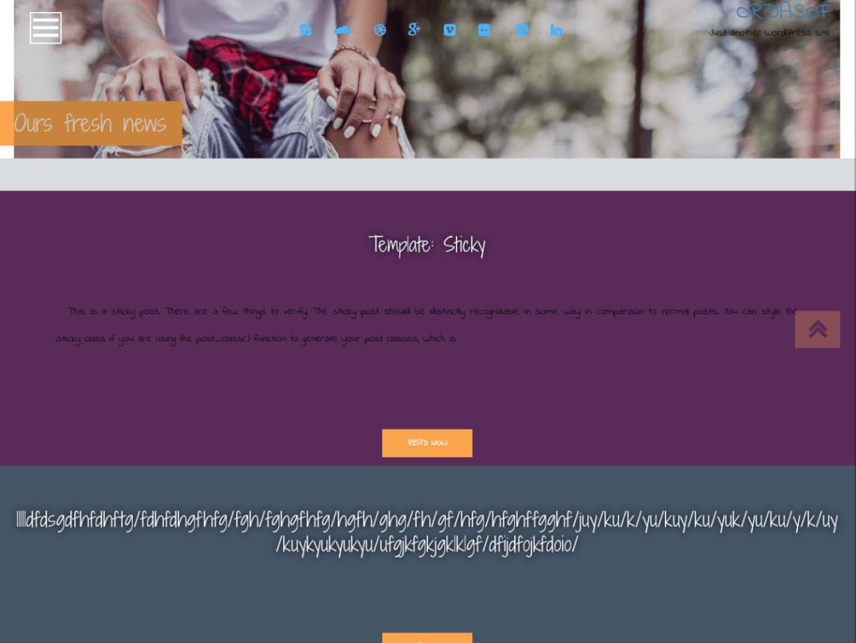 Fcast - 11+ Best Free WordPress Themes June 2016 - WPAll Club