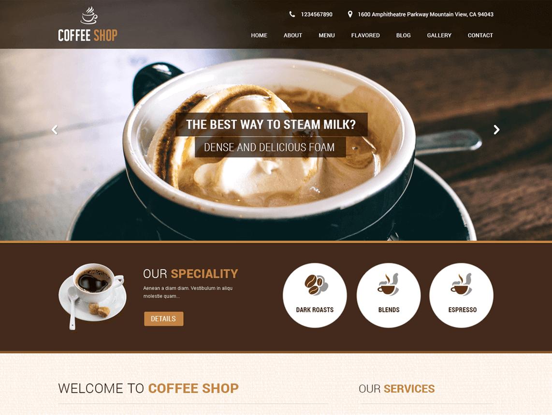 SKT Coffee - 11+ Best Free WordPress Themes June 2016 - WPAll Club