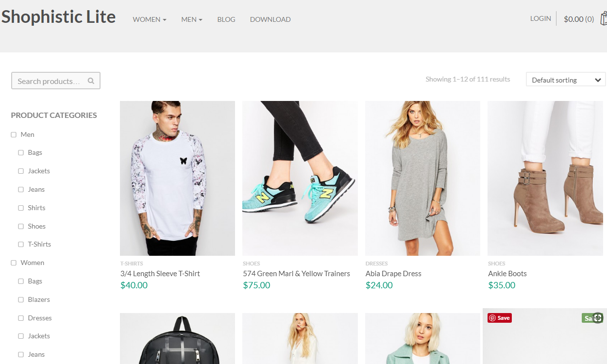 shophistic lite - 17+ Responsive Free eCommerce WordPress Themes for 2019