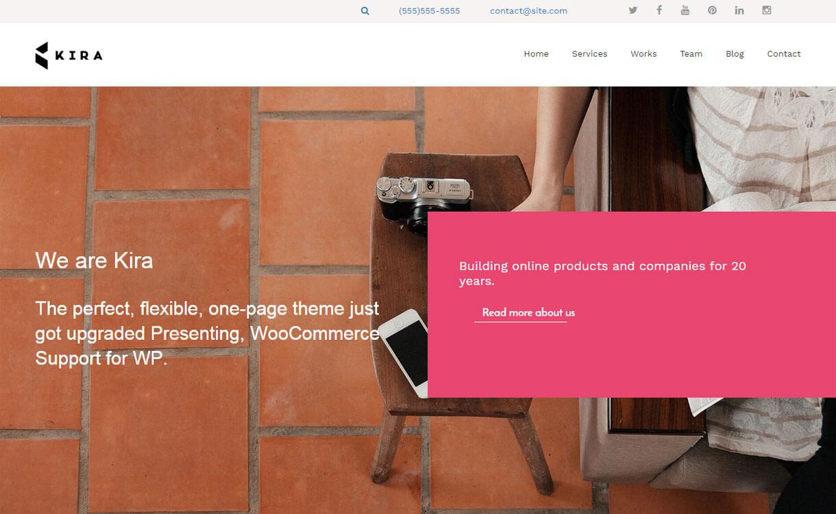 kiralite-free-WordPress-theme
