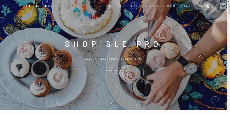 ShopIsle - 30+ Best Premium WordPress eCommerce/WooCommerce/Online Store Themes 2019