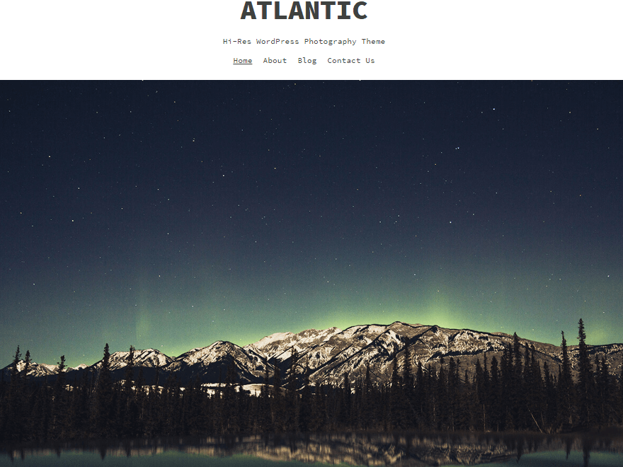 atlantic - 11+ Best Free WordPress Themes July 2016 – WPAll Club