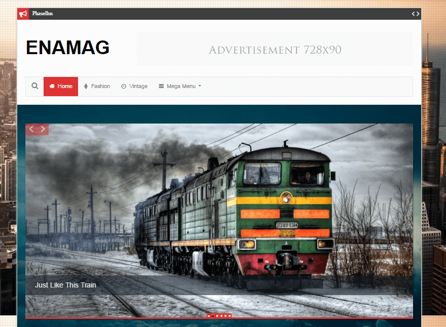 enamag - 11+ Best Free WordPress Themes July 2016 – WPAll Club