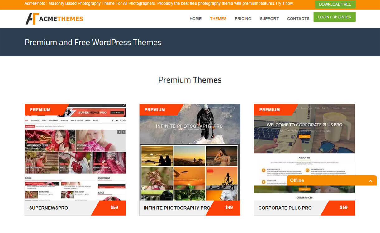 acmethemes-WordPress-theme-store