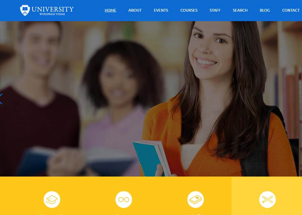 College WordPress Education Theme - 35+ Best Premium WordPress Themes and Templates 2020[UPDATED]