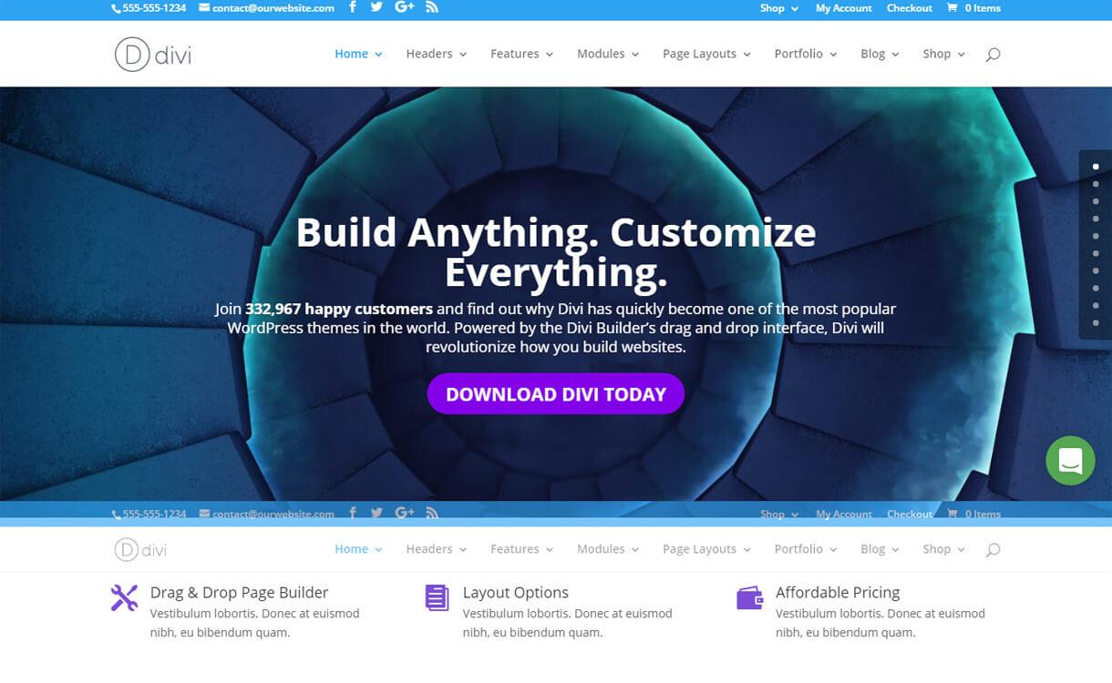Divi - Premium WordPress Multipurpose Theme