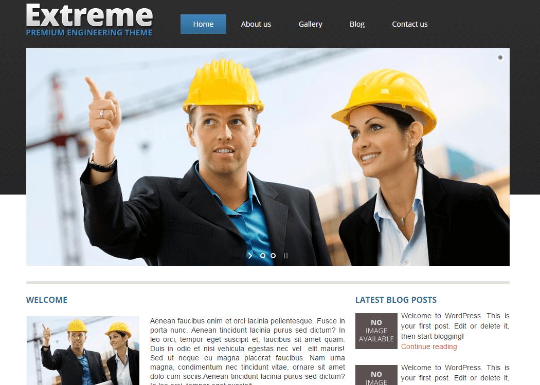 Extreme Wordpress Business Theme - 35+ Best Premium WordPress Themes and Templates 2019 [UPDATED]
