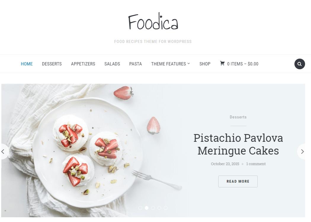 Foodica WordPress Multipurpose Theme - 35+ Best Premium WordPress Themes and Templates 2020[UPDATED]