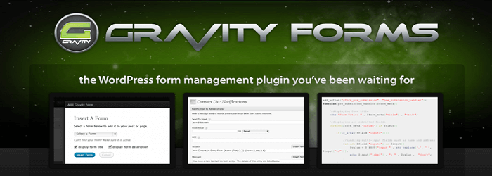 Gravity Forms - WordPress Contact Form Plugin