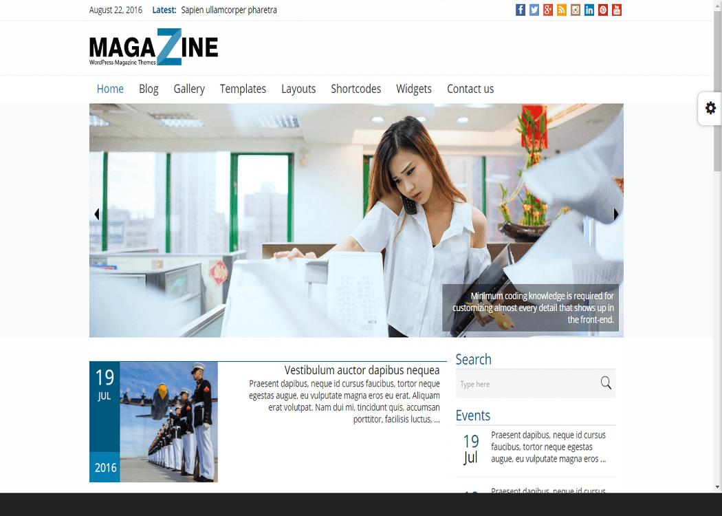 Magazine WordPress News Magazine WordPress Theme - 35+ Best Premium WordPress Themes and Templates 2020[UPDATED]