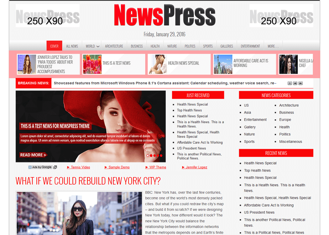 NewsPress WordPress NewsMagazine Theme - 35+ Best Premium WordPress Themes and Templates 2019 [UPDATED]
