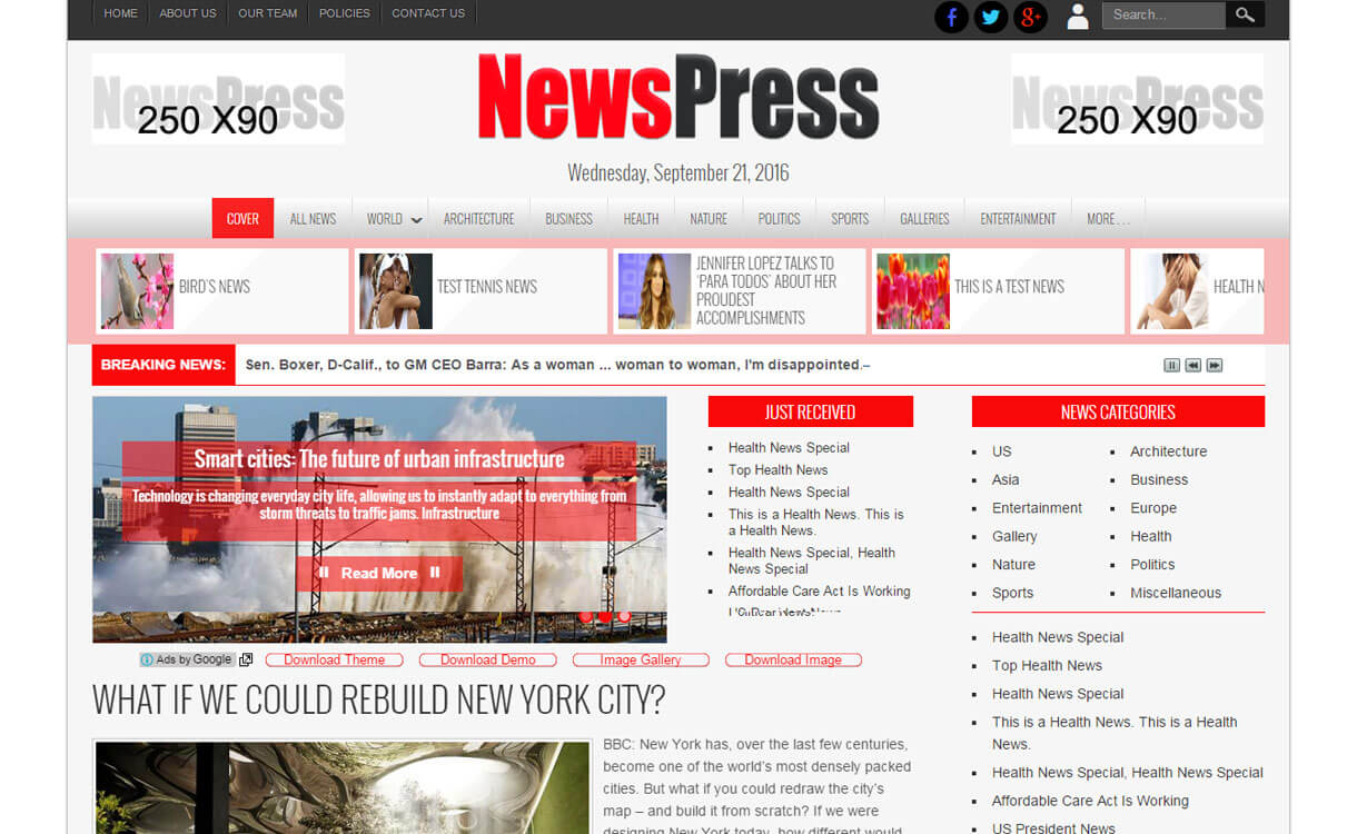 newspress-Premium-WordPress-theme