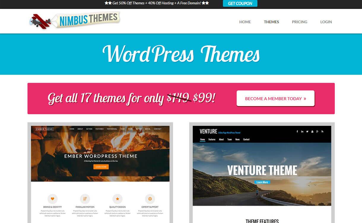 Nimbus Themes - Web Development Company