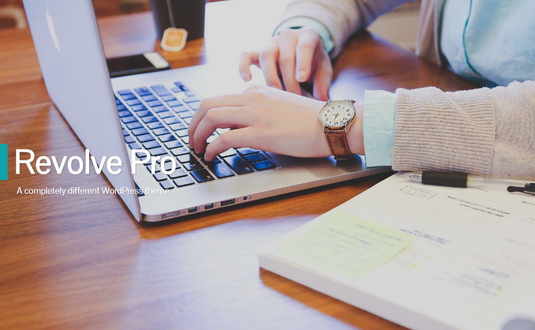 Revolve pro - 15+ Best Premium WordPress One Page Themes 2019
