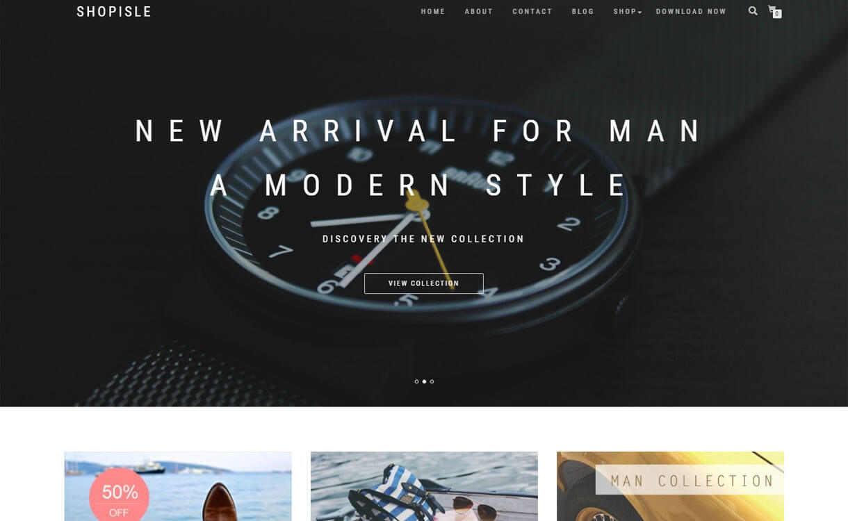 SHOPISLE - 30+ Best Free WordPress eCommerce/WooCommerce Themes for 2020