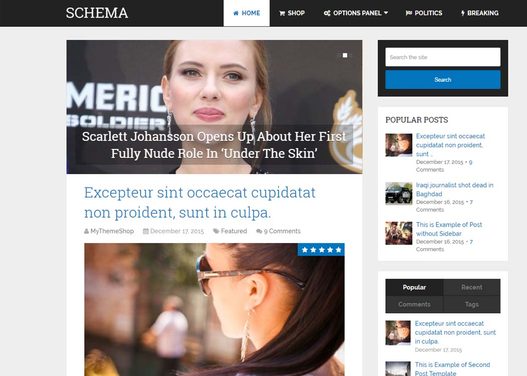 Schema WordPress Blog Theme - 35+ Best Premium WordPress Themes and Templates 2020[UPDATED]