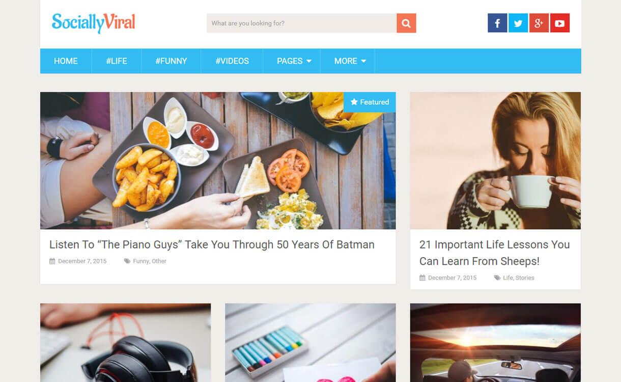 socially-viral-free-WordPress-theme