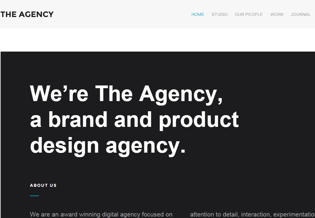 The Agency WordPress Business Theme - 35+ Best Premium WordPress Themes and Templates 2019 [UPDATED]
