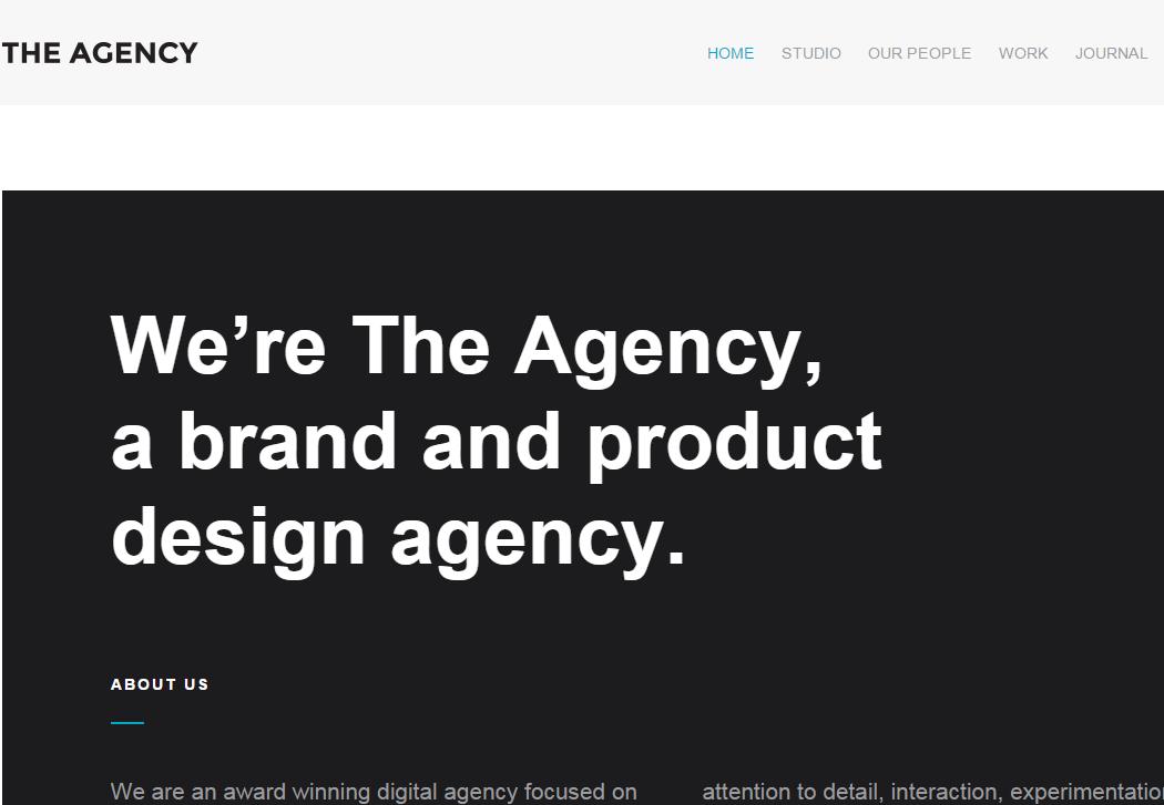 The Agency - WordPress Business Theme