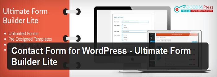 Ultimate Form Builder Lite - Best Free WordPress Form Builder Plugin
